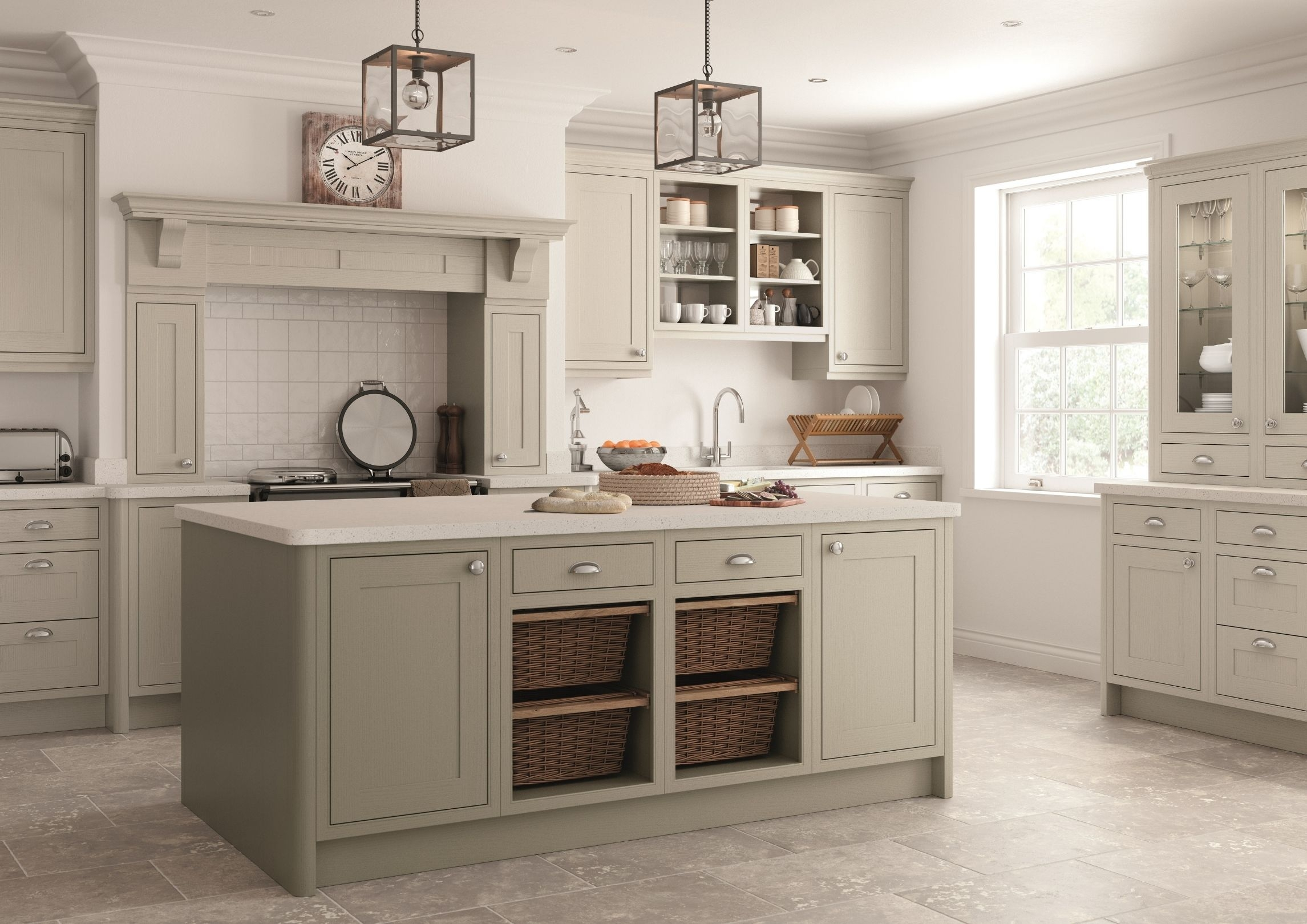 Classic In frame Kitchen