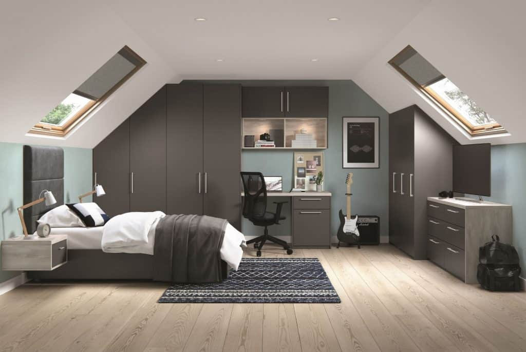 Fitted Modern Bedroom