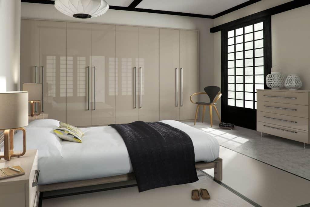 Glossy Morven Bedroom