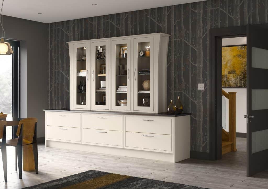 Cream Modern In-Frame Kitchen