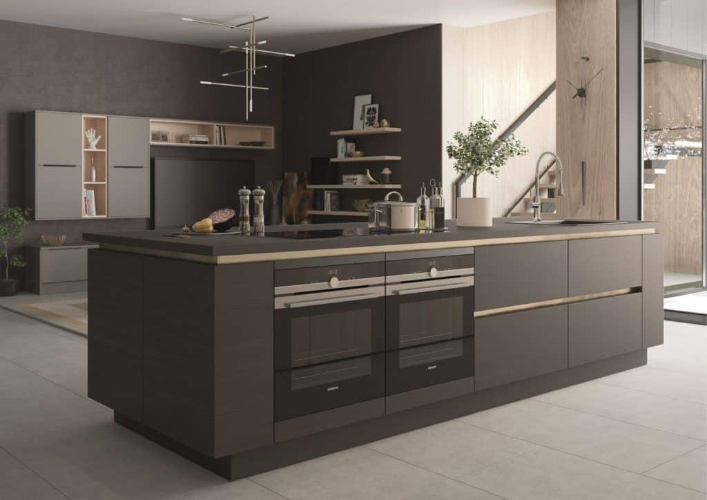 modern handleless kitchen