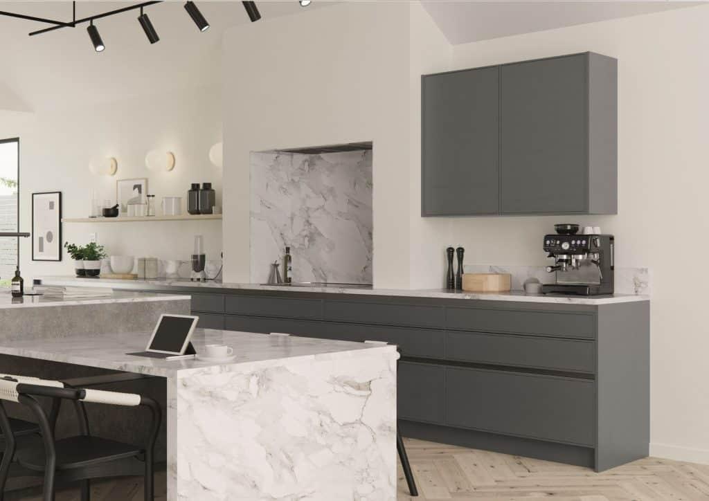 modern matt kitchen