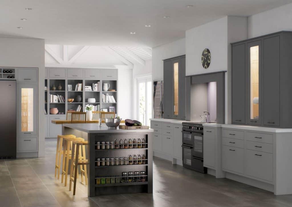 Modern Mereway Kitchen with Island